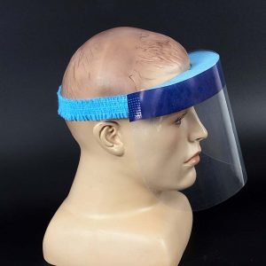 face shield front