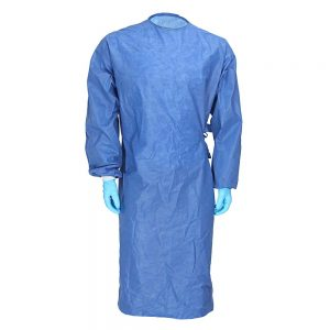 surgical gown blue