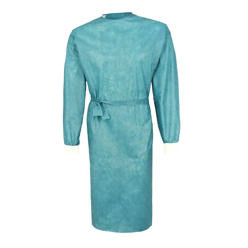 surgical gown green